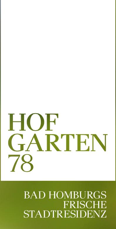 Hofgarten78 – Bad Homburgs frische Stadtresidenz