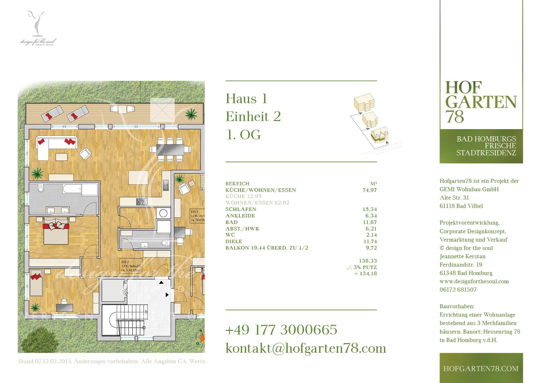 Hofgarten78 Grundrisse 3.08