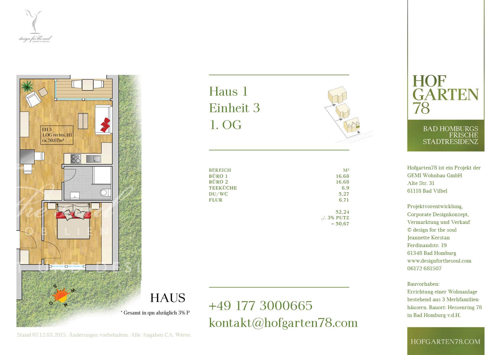Hofgarten78 Grundrisse 3.09